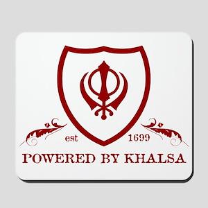 Powered by KHALSA - Mousepad