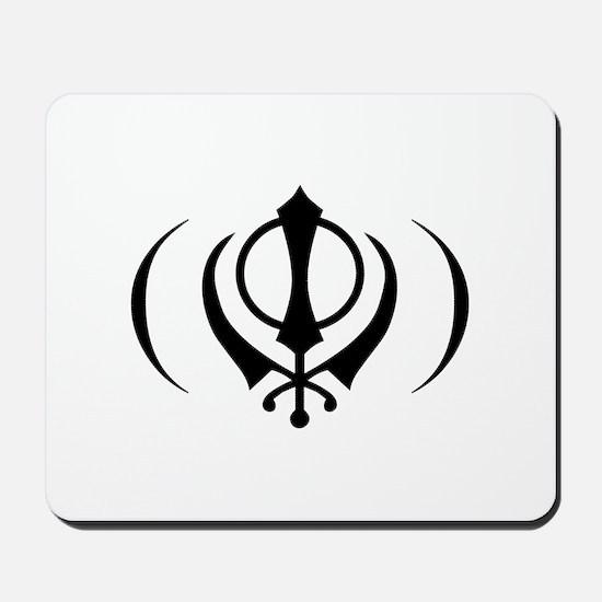 Proud SIKH Logo Mousepad