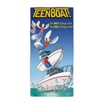 Teen Boat Beach Towel