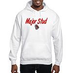 Navy Major Stud Hooded Sweatshirt