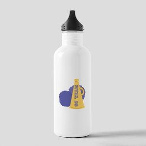 Go Team Horn Water Bottle