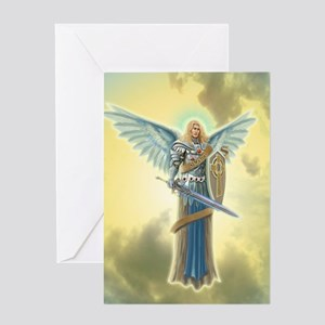 Angel Michael Greeting Cards