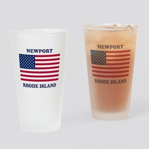 Newport Rhode Island Drinking Glass