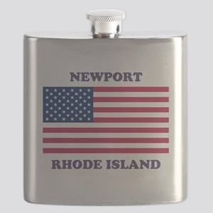 Newport Rhode Island Flask