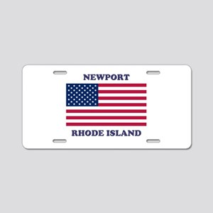 Newport Rhode Island Aluminum License Plate