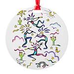 Kokopelli #1 Round Ornament