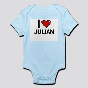 I Love Julian Body Suit