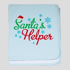 Santas Helper-01 baby blanket