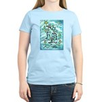 Kokopelli - Turq. Women's Light T-Shirt