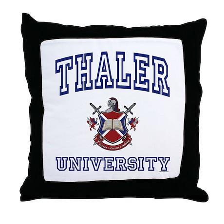 THALER University Throw Pillow