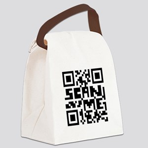 Scan Me Canvas Lunch Bag