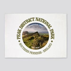 Peak District NP 5'x7'Area Rug
