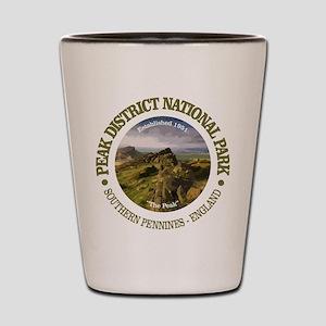 Peak District NP Shot Glass