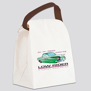 KNOW THE LOW RIDER Canvas Lunch Bag