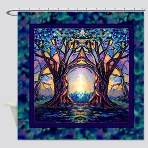 TREE SPIRIT Shower Curtain