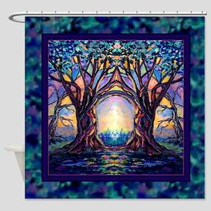TREE SPIRIT Shower Curtain