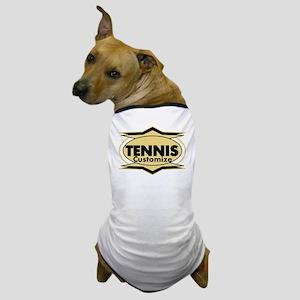 Tennis Star stylized Dog T-Shirt