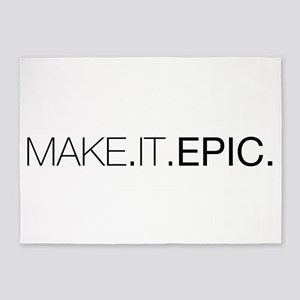 Make.It.Epic 5'x7'Area Rug
