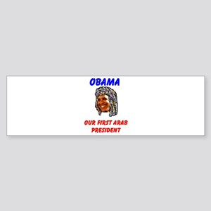 OBAMA ARAB Bumper Sticker