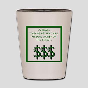 casino Shot Glass