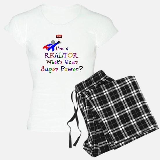 Realtor Super Power Pajamas