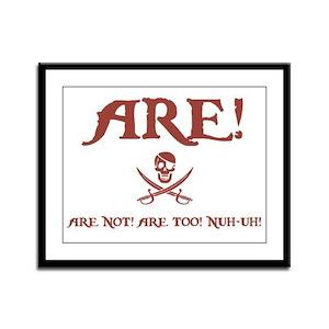 Are! II Framed Panel Print