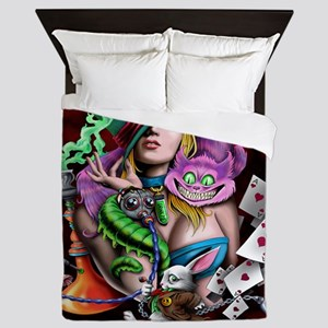 Wonderland Queen Duvet