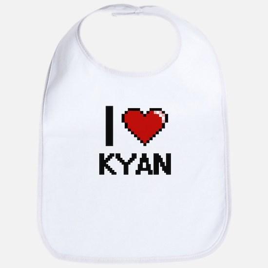 I Love Kyan Bib