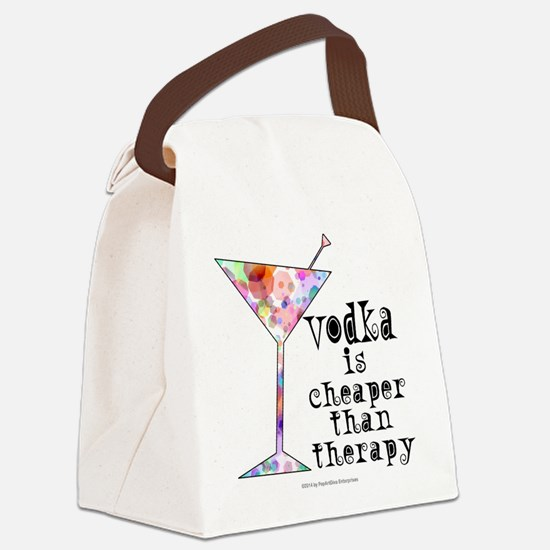Cute Alcohol Canvas Lunch Bag