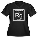 111. Roentgenium Plus Size T-Shirt