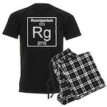 111. Roentgenium Men's Dark Pajamas