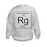 111. Roentgenium Kids Sweatshirt