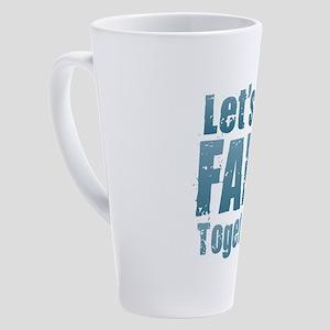 Let's All Fart Together 17 oz Latte Mug