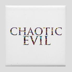 Chaotic Evil Tile Coaster