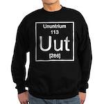 113. Ununtrium Sweatshirt (dark)