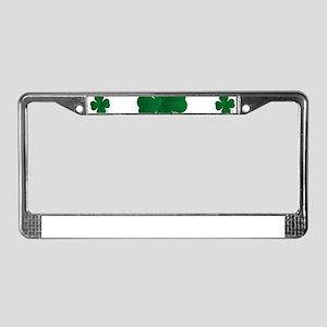 Shamrocks Multi License Plate Frame