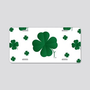 Shamrocks Multi Aluminum License Plate