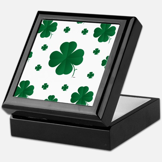 Shamrocks Multi Keepsake Box