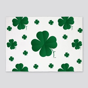 Shamrocks Multi 5'x7'Area Rug