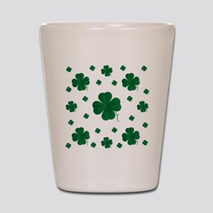 Shamrocks Multi Shot Glass