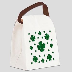 Shamrocks Multi Canvas Lunch Bag