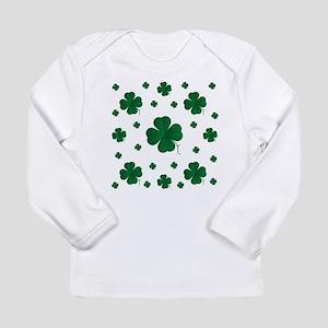 Shamrocks Multi Long Sleeve Infant T-Shirt