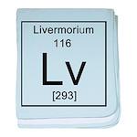 116. Livermorium baby blanket