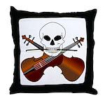 Violin Master Throw Pillow