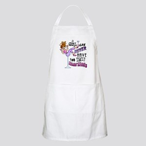A Girl Can Never Have Too Many MARTINIS! Apron