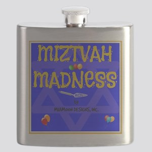 MITZVAH MADNESS Flask