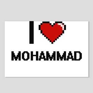 I Love Mohammad Postcards (Package of 8)