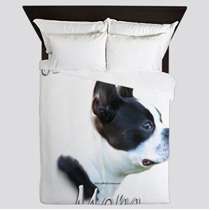 BostonMom Queen Duvet