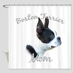 BostonMom Shower Curtain