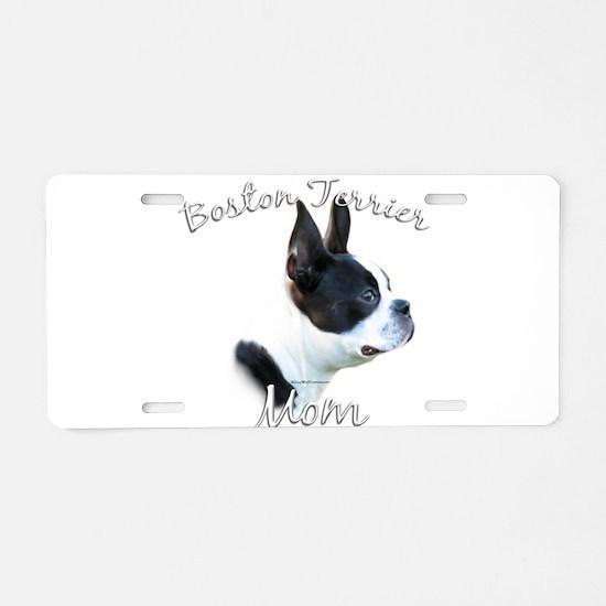 BostonMom.png Aluminum License Plate